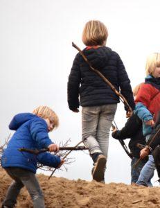 Pijl en boog actief kinderfeestje